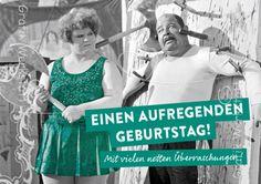 Aufregenden Geburtstag - Postkarten - Grafik Werkstatt Bielefeld
