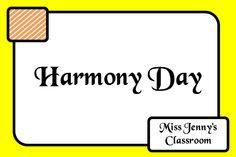 Harmony Day in Australia. Celebration. Ideas and activities. Miss Jenny's Classroom.
