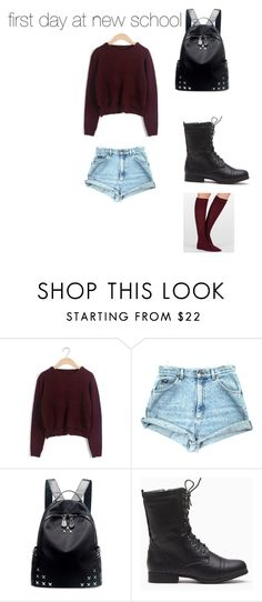 """""""Untitled #31"""" by diana-mcdonald-dm ❤ liked on Polyvore featuring Chicnova Fashion and Modern Heritage"""
