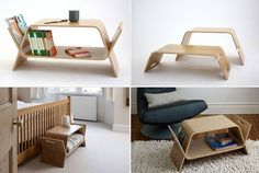 Magazine Rack Table - Modern and Multifunctional Solutions