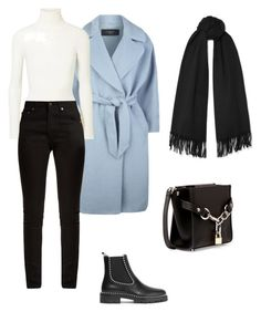 """""""."""" by yasfroot ❤ liked on Polyvore featuring Weekend Max Mara, JoosTricot, Yves Saint Laurent, Acne Studios, Alexander Wang and winterscarf"""