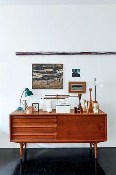 Mueble vintage, casa en Brasil