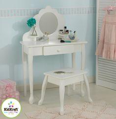 Kid Kraft Medium Diva Table & Stool - 13009