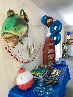 Fishing Tips - Fishing tips and Equipment 1st Boy Birthday, Boy Birthday Parties, Birthday Party Decorations, Birthday Ideas, Gone Fishing Party, Fishing Wedding, Fishing Party Games, Fishing Knots, Bass Fishing