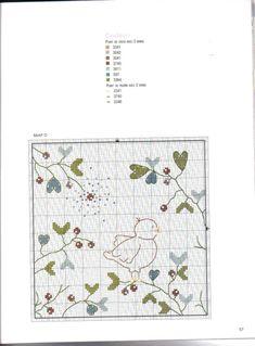 Gallery.ru / Фото #40 - 761 - Yra3raza Cross Stitch Bird, Cross Stitch Borders, Cross Stitch Animals, Baby Embroidery, Cross Stitch Embroidery, Kids Patterns, Pattern Books, Needlepoint, Needlework