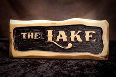 Nautical Carved Lake Sign by AdirondackJims on Etsy, $74.62