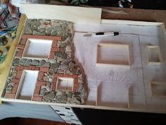 CRAFTS AND CREATIONS MY HOBBY: CRAFTS. STONE FACADE
