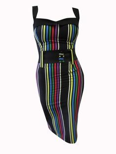 Image of Switchblade Stiletto Serape Darling Dress