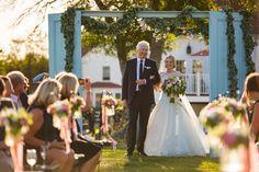 Wedding Dress: Peter Langner  - http://www.kleinfeldbridal.com/ Groom's Attire: Mens Wearhouse  - www.menswearhouse.com/ Venue: Jonathan Edwards Winery - jedwardswinery.com   Read More on SMP: http://www.stylemepretty.com/2015/12/22//