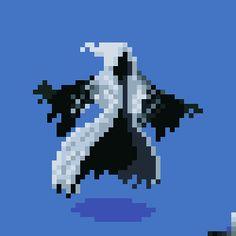 "[OC][CC] ""Phantom"" Idle Animation for PixelDailies Piskel Art, Pix Art, Fantasy Character Design, Character Art, Pixel Animation, Anime Pixel Art, Pixel Art Games, Monster Design, Creature Design"