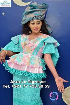 50 photos- La nouvelle collection très tendances de Anta La Tigresse | Limametti.com African Fashion Dresses, African Dress, African Fashion Traditional, Peplum Dress, Harajuku, Hair Beauty, Chic, Womens Fashion, Skirts