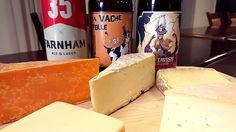 À chaque édition, Philippe Wouters et Ian Picard, maître-fromager à la fromagerie Hamel, s'amusent à trouver les meilleurs mariages bières et fromages. Le dé : marier des fromages avec la capsule sensation Ambrée amère. #bière #beer