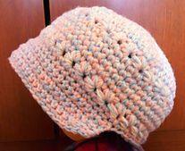 Toddler's Brimmed Star Cap (crocheted)  http://www.tigrislu.com/crochet.html