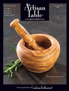 Catalog Spree - Artisan Table - Late Autumn 2012 Catalog