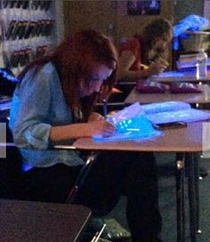 the agony and dx/dt: Piecewise Function Fun..highlighters and black lights