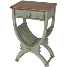 I'd love this Joss and Main side table as a nightstand.