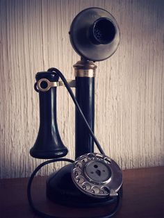 ELLIOT NESS PHONE ~ I currently have a brass Elliot Ness telephone, c. approx. 1910.  And it works.