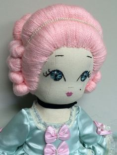 Handmade Dolls from the Heart Doll Face Paint, Fairy Tales, Hello Kitty, Dolls, Classic, Handmade, Painting, Collection, Art