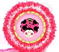 World of Pinatas - LadyBug Pull String Pinata, $27.99 (http://www.worldofpinatas.com/ladybug-pull-string-pinata/)