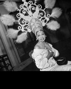 Josephine Baker was still performing in the 1960s and turned to social activism – she was invited to be a leader in the US civil rights movement after Martin Luther King Jr died