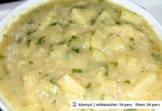 Hungarian Recipes, Hungarian Food, Cheeseburger Chowder, Side Dishes, Food And Drink, Soup, Vegetables, Foods, Stew