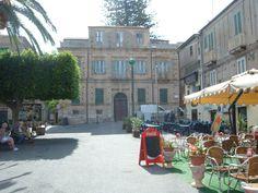 Un palazzo storico nel centro di Tropea