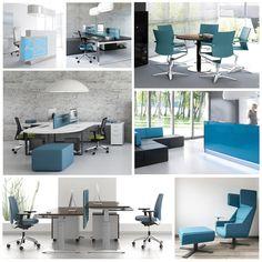 👉 Le bleu nous offre une sensation de confiance et de sécurité. Il est alors utilisée par des banques et des entreprises financières.  👉 Étant donné que le bleu évoque l'avenir, la modernité et l'innovation, #skype #facebook #twitter par exemple ont associé le bleu pour l'aspect de leurs nouveaux produits.  👉 Le bleu est aussi capable de baisser la tension. Donc on le retrouve souvent dans les hôpitaux et les salles de pause. #BMBureau #moodboard #blue #furniture #office #design…