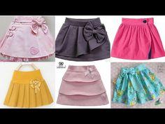 Stylish And Gorgeous Girls Skirts Designs Little Girl Dress Patterns, Little Girl Skirts, Baby Girl Dress Patterns, Skirts For Kids, Little Girl Dresses, Baby Frocks Designs, Kids Frocks Design, Baby Frock Pattern, Baby Girl Birthday Dress