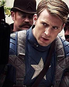 Steve Rogers, Captain America.... Stop!!! Stop being so perfectly awesome!