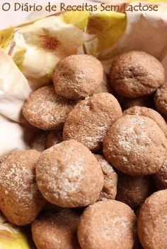 O Diário de Receitas Sem Lactose: Biscoitinhos de Canela da Glau