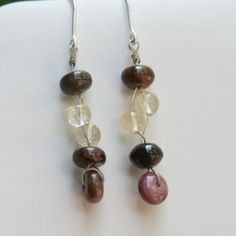Tourmalin-Citrine-Sterling-Earrings