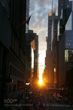 Manhattan henge by HopeMisterek