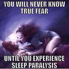 i have this and it scares me every time it happens (thankfully not very often once or twice a month at most).