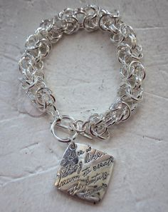 "Thoughts to Share - Inspirational Bracelet. ""There is nothing like a dream to create the future"" - Victor Hugo. $24.95 #inspirationaljewelry #bracelet"