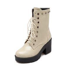 the best attitude 4a454 f566c Shaft  16cm Round  26cm Heels  8cm Platform  3cm Color  Black,