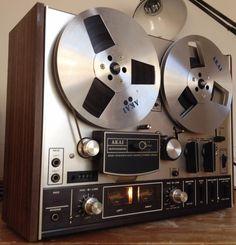 AKAI 4000DS Reel-to-Reel Vintage Tape Deck - Minor Flaws #Akai