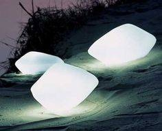 Stones of Glass by Oluce