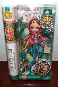 Ever After High Though The Woods ASHLYNN ELLA Doll NEW! #Mattel #DollswithClothingAccessories