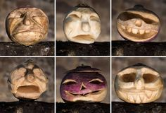 Carved turnips are displayed at Dover Castle in southern England ahead of Halloween. Dover Castle, Spooky Decor, Herbal Medicine, Favorite Holiday, Eve, Herbalism, Garlic, Stuffed Mushrooms, Carving