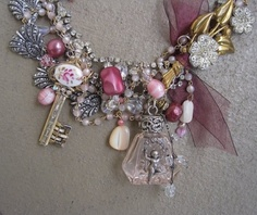 Key to a Perfumed Garden Romantic Jeweled by MorticiaSnow on Etsy, $315.00