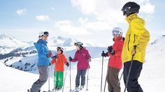 Ski lessons with a qualified instructor can help visitors to British Columbia make the most of their annual ski trip British Columbia, Skiing, Ski