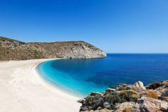 Zorkos beach in Andros island, Greece... http://biguseof.com/special-vacation-deals