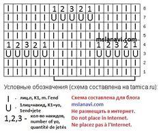 схема ажурный узор, openwork pattern scheme,ajouré schéma de motif