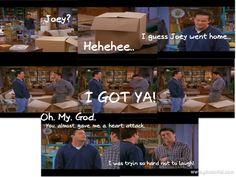 One of my favorite Friends scenes!