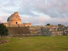 """The """"Observatory"""" at Chichen Itza"""