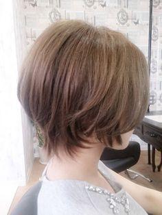 **Gem Garden**ハネさせない☆ふわっとスッキリショートボブ - 24時間いつでもWEB予約OK!ヘアスタイル10万点以上掲載!お気に入りの髪型、人気のヘアスタイルを探すならKirei Style[キレイスタイル]で。