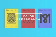 Visual Graphc - Color Propaganda by Marco Oggian #boobies