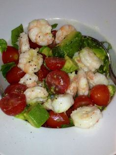 Daily Southern Sunshine: Shrimp and Avocado Salad. #recipe
