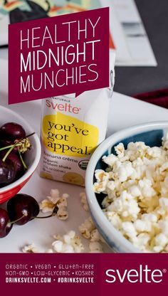 Enjoy a midnight #snack without worrying about it ruining your sleep or #diet. Here are some of our favorite #healthy late night munchies to snack on! #latenight #sleep