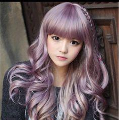 Pastel Lilac purple Hair Dye https://www.etsy.com/listing/150654431/pastel-lilac-hair-dye